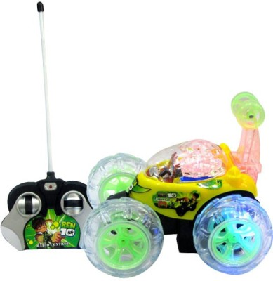Shop & Shoppee Ben 10 Stunt Car(Green, Red) Flipkart