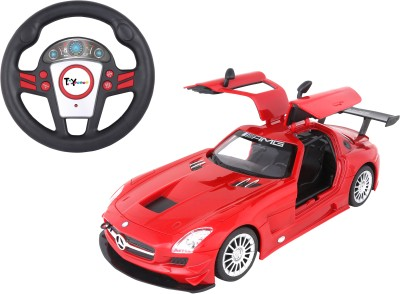 Toy House Officially Licensed 1:16 Mercedes SLS AMG GT3 with small steering RC Car, Red(Red) at flipkart