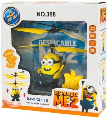 GoMerryKids IR Controlled Rechargeable Minion Flyer(Yellow)
