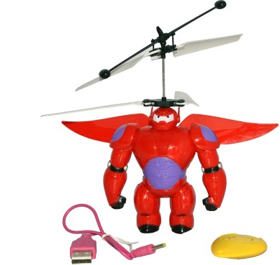 Toyzstation Palm Controlled Bot Fight Flyer(Red)