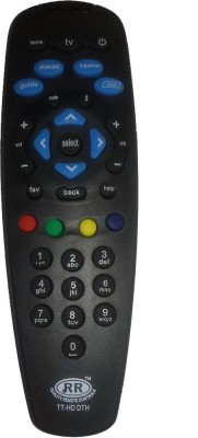 Fox Remote Tata Sky Remote Controller Black