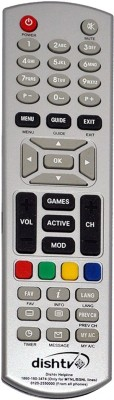 Fox DTH DISH Remote Controller Gray