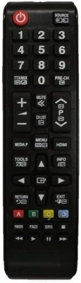 MEPL SAMSUNG LCD LED TV Remote Controller(Black)