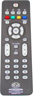 SJS Philps Lcd Universal Urc-37 Remote Controller(Black)