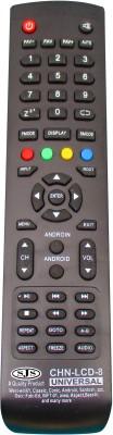 SJS China Lcd/Led Universal-8 Remote Controller(Black)