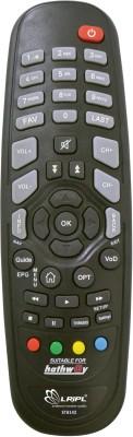 LRIPL Compatible VU TV LED/LCD Remote Controller(Black)