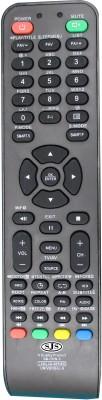 SJS China Lcd/Led Universal-3 Remote Controller(Black)
