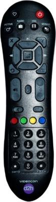 Videocon D2h Sd Digital Set Top Box Remote Controller(Black)