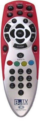 SJS Set Top Box Rld 002 Reliance Remote Controller Grey
