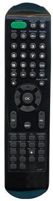 MEPL Compatible Videocon Lcd Tv Model No V-Lp Remote Controller(Black)