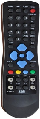 RR Sun Tv Dth Remote Sun Dth Tv Remote Controller Black