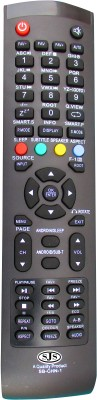 SJS China Lcd/Led Universal-1 Remote Controller(Black)