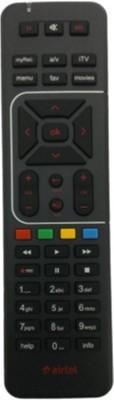 Airtel DIGITAL TV HD RECORDING ORIGINAL Remote Controller(Black)