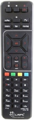 Airtel ST037 Remote Controller(Black)