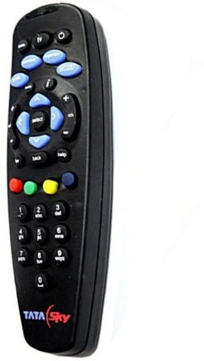 Swiftech Normal Tata Sky Remote Controller Black Swiftech Appliance Parts   Accessories
