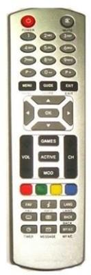 MEPL Compatible Dishtv Set Top Box Remote Controller Grey