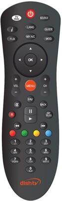Dish Tv Set Top Box Universal Remote Remote Controller(Black)