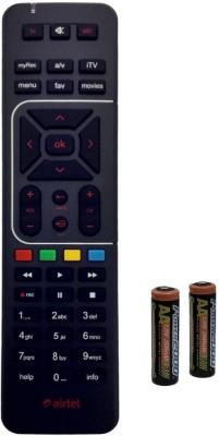 Airtel HD Universal Original Airtel Digital HD Box Remote Controller Black