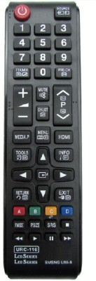 Bikers World Compatible For Led Lcd Tv URC 116 Remote Controller(Black)