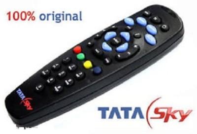 Tata Sky ORIGINAL HD Remote Controller(Black)