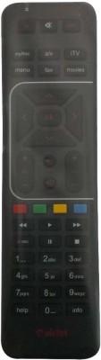 Fox Micro COMPATIBLE DTH AIRTEL Remote Controller Black Fox Micro Appliance Parts   Accessories