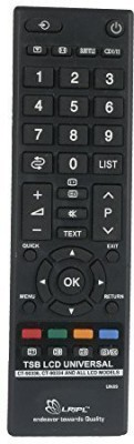 KoldFire MEPL Toshiba LED / LCD CT90336 Compatible Remote Controller(Black)