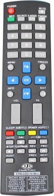 SJS China Lcd/Led Universal-09 Remote Controller(Black)
