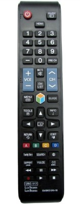 Bikers World Compatible For Samsung Led Lcd Tv URC 117 Remote Remote Controller(Black)