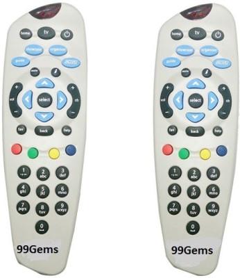 99Gems TATASKY TATASKY Setop Box Remote Controller Half White 99Gems Appliance Parts   Accessories