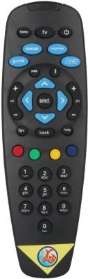 Fox Micro Fox Micro Remote For Tata Sky Remote Controller(Black)