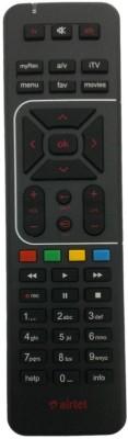 Sprik Airtel Remote01 Remote Controller(Black)