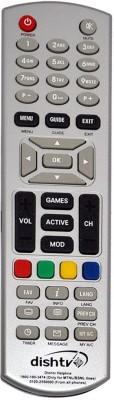 Swiftech Dish TV Normal dishtv Remote Controller golden