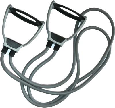 Aerofit Dual Soft Expander Resistance Tube(Grey)