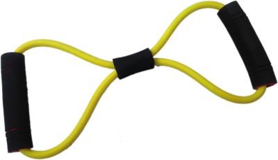 Sahni Sports Figure 8 Band Light Resistance Tube Yellow, Black