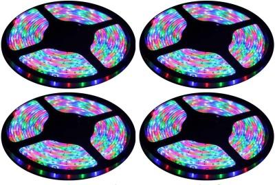 Daylight LED 784 inch Multicolor Rice Lights(Pack of 4) at flipkart