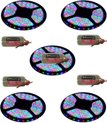 I Play 196 inch Red, Green, Blue Rice Lights(Pack of 1) at flipkart