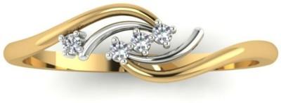 Astrum Diamonds The Fire   Ice 18kt Diamond Yellow Gold ring
