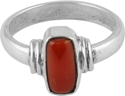 Wadson Silver Coral Ring at flipkart