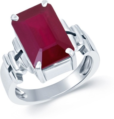 SMS Retail 5.25 Ratti Stone Ruby Ring at flipkart