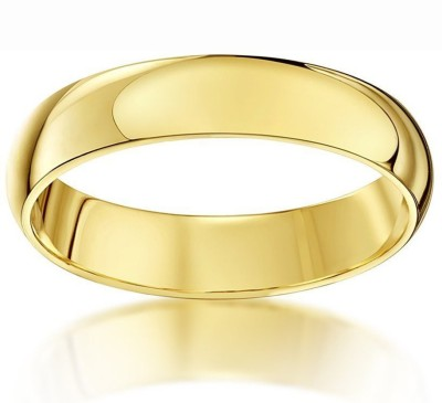 Spangel Enterprise Love Band Brass 22K Yellow Gold Plated Ring  available at flipkart for Rs.147
