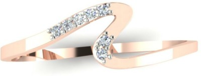Astrum Diamonds Glittering Path 18kt Diamond Rose Gold ring