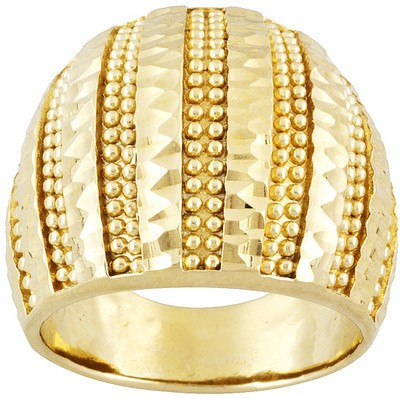 Netaya Bronze Gold Plated Ring at flipkart