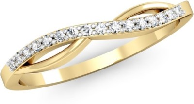 Kataria Jewellers The Piera BIS Hallmarked Gold 14kt Diamond Yellow Gold ring