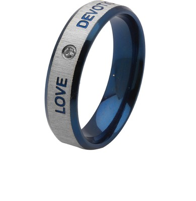 Voylla ArtificialClassic Plain Alloy Silver Plated Ring at flipkart
