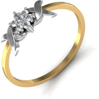 Avsar Gujarat 18kt Diamond Yellow Gold ring