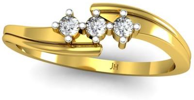 JewelHub 18kt Yellow Gold ring at flipkart