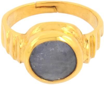 Avaatar 3 Carat Panchdhatu Bello Metal Sapphire Ring