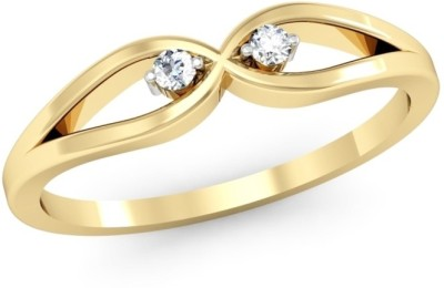 Kataria Jewellers The Fealty BIS Hallmarked Gold 14kt Diamond Yellow Gold ring