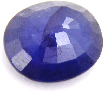Raviour Lifestyle 5.00 ct/5.5 Ratti Blue Sapphire/Neelam Marka Natural Gemstone ring Stone Sapphire Ring at flipkart