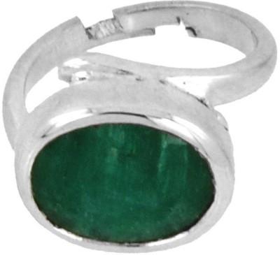 Avaatar 6 Carat Bello Sterling Silver Emerald Ring at flipkart